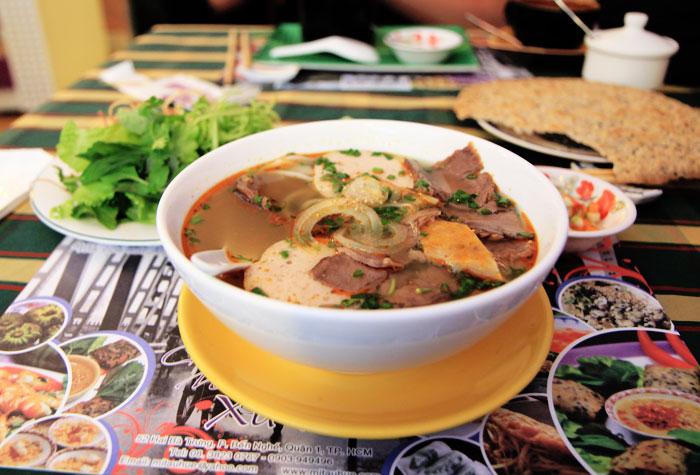 Saigon: BBQ Ostrich, Boats, Bun Bo Hue  - Faine Opines