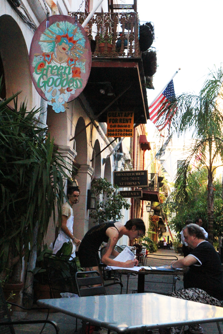 Last Days Of The Green Goddess New Orleans Faine Opines