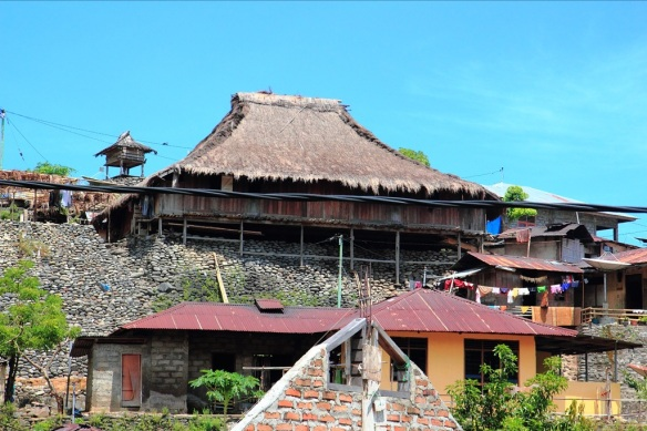 Rumah adat - old house - in Wolotopo.