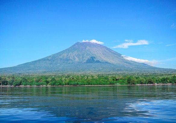 Gunung Agung on Bali.