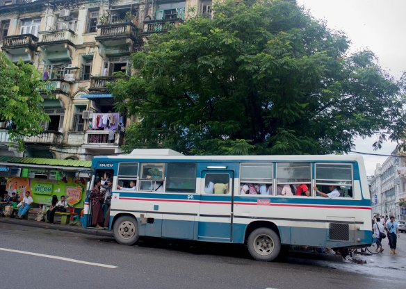 Burmese death buses are not actually a viable solution.